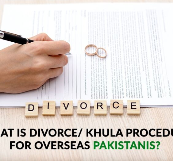Divorce : Khula Procedure for Overseas Pakistanis