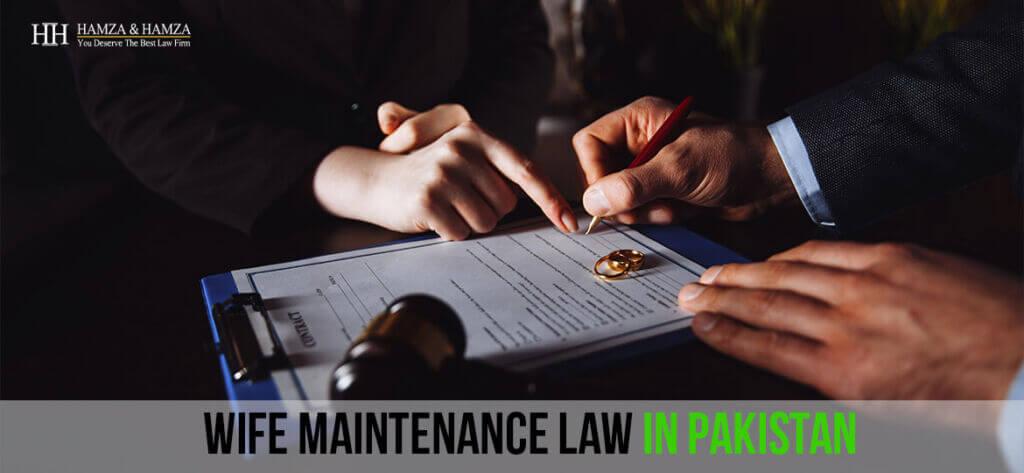 Wife Maintenance Law In Pakistan