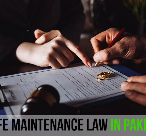 Wife Maintenance Law In Pakistan